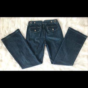 Banana Republic Jeans - Banana Republic dark wash size 6 jeans